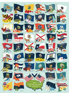 State Flags Jigsaw Puzzle