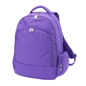 Solid Purple Backpack by Viv & Lou