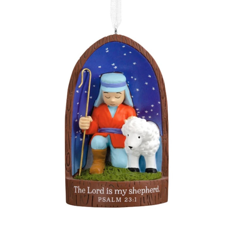 The Lord Is My Shepherd Ornament