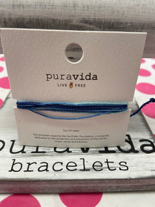 Puravida Charity Bracelets *Various Colors*