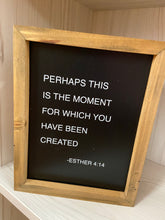 Load image into Gallery viewer, This is the Moment - wooden boxes sign