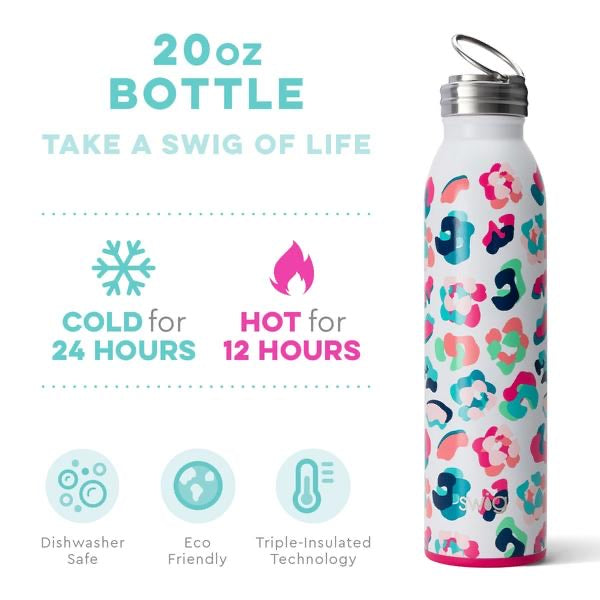 SWIG Insulated Water Bottle 20oz. - Party Animal