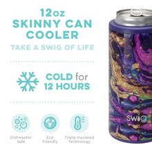 Load image into Gallery viewer, Purple Rain 12 oz Skinny Can Cooler