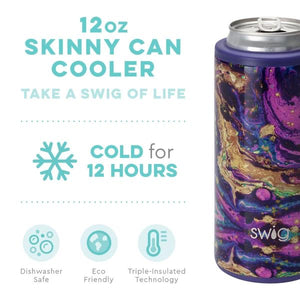 Purple Rain 12 oz Skinny Can Cooler