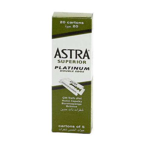Astra Double Edged Razor Blades - 100pk