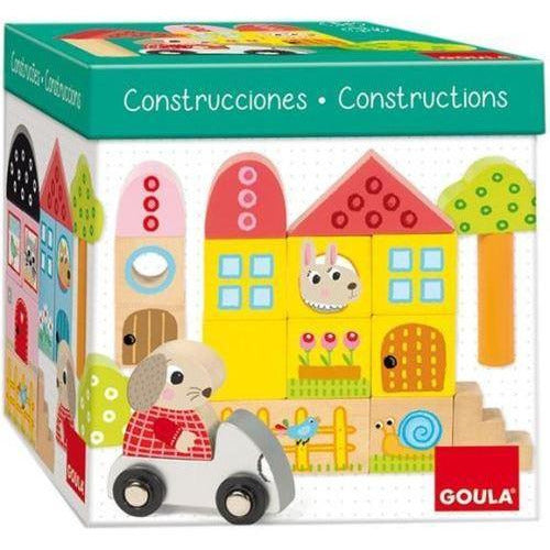 40 Blocs de Construction + lapin