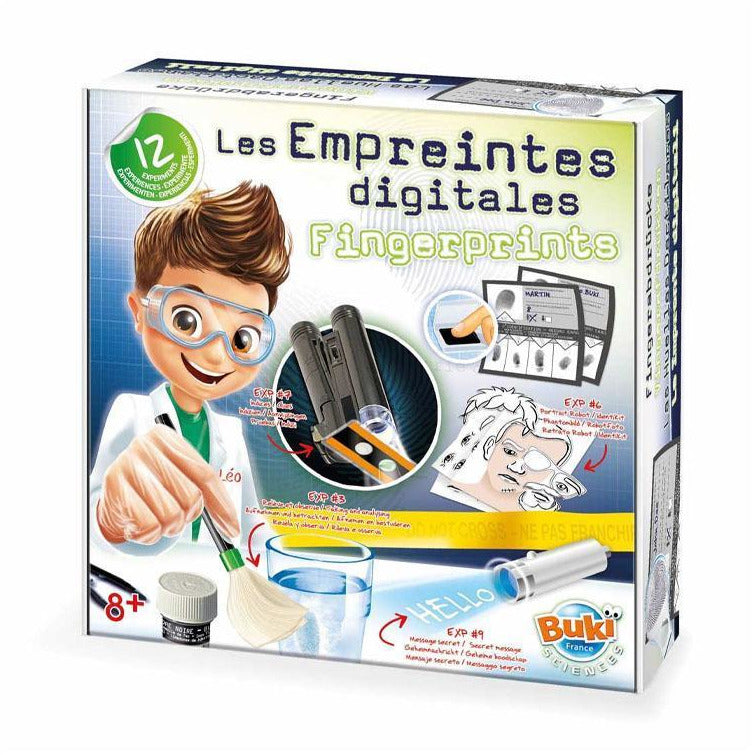 Coffret - Empreintes digitales