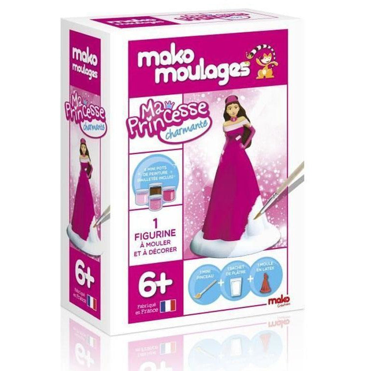 Coffret - Ma princesse charmante - Mako Moulages
