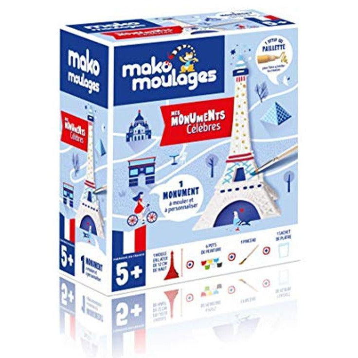 Coffret - Ma Tour Eiffel - Mako Moulages