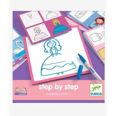 Coffret Step by step - Joséphine and Co - Djeco