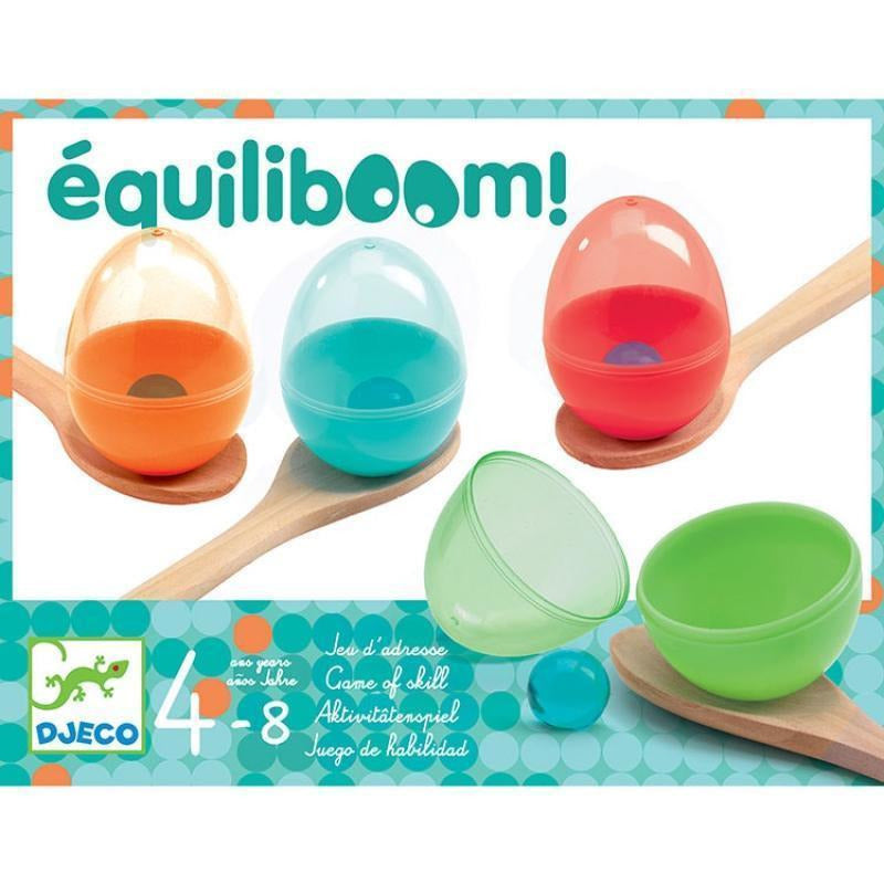 Equiliboom course aux oeufs