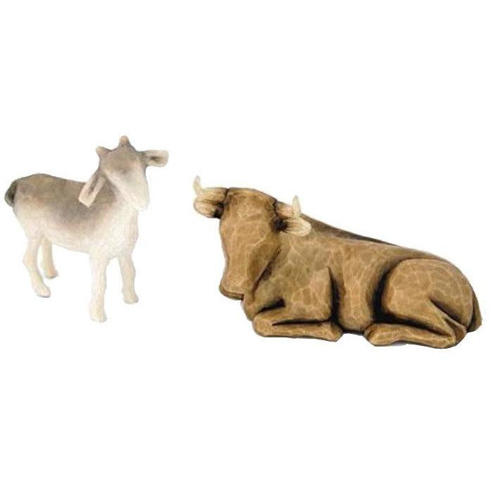 Figurines boeuf et chevreau - Willow Tree