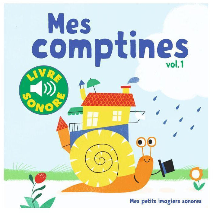 Imagier sonore - Mes comptines vol.1