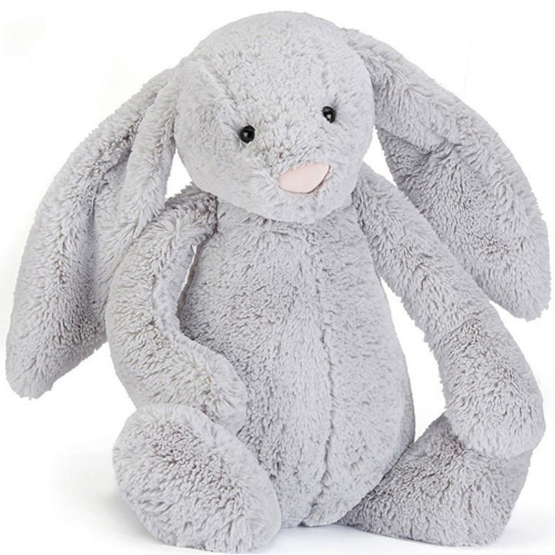 Peluche - Lapin Bashful Silver Medium - Jellycat
