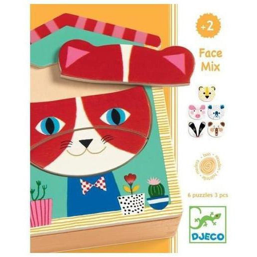 Puzzle Face mix - Djeco