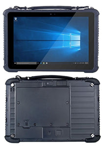 Highton 10.1 inch Intel Win 10 4G+128G rugged tablet with 3G/4G Barcode Fingerprint waterproof tablet PC