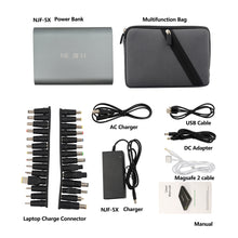 Load image into Gallery viewer, The NEJIFU NJF-5X 50000mah laptop power bank (5V 8.4V 9V 12V 16V 20V)