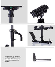 Load image into Gallery viewer, LAING M30PII Heavy Duty Carbon Fiber Handheld DSLR Video Camera Stabilizer