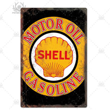 Load image into Gallery viewer, Retro Design Motor Oil Metal Tin Signs Garage, Decor Plaque, Man Cave, Bar, Pub, Gas Station, Decoration