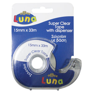 Luna Tape Dispenser 15mmX33m