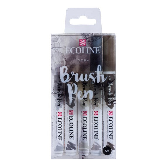 Ecoline Brush Pens - Grey Set 11509907