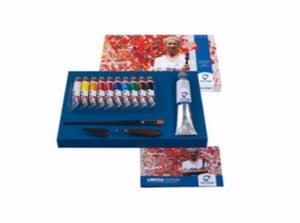 Van Gogh LIMITED EDITION SET - Acrylic/modeling paste/brush/painting knife