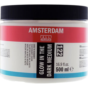 Amsterdam Glow-In-The-Dark Medium 122 Jar 500 ml