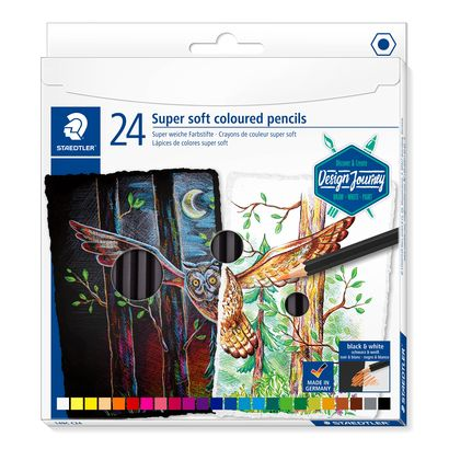 Staedtler Super Soft Coloured Pencils 149C C24