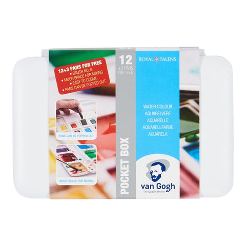 Van Gogh Water Colour Pocket Box 20808631