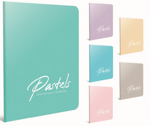 Gipta notebook Pastels A4 - 60 sheets - Plain