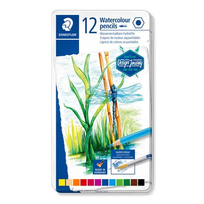 Staedtler Water Colour Pencils 14610C M12
