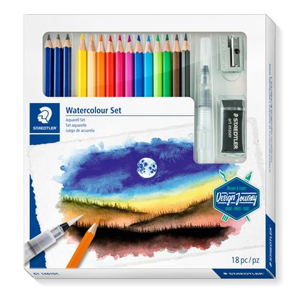 Staedtler watercolour set 61 14610C