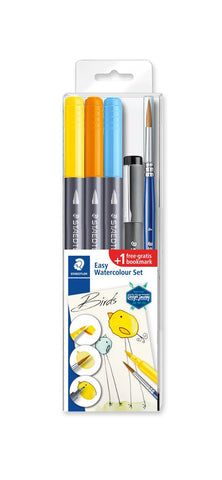 Staedtler Double-ended watercolour brush pen 3001STB5-1