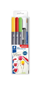 Staedtler Double-ended watercolour brush pen 3001STB5-2