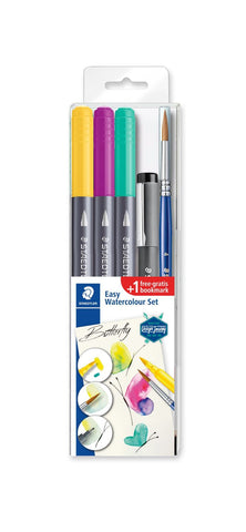 Staedtler Double-ended watercolour brush pen 3001STB5-3