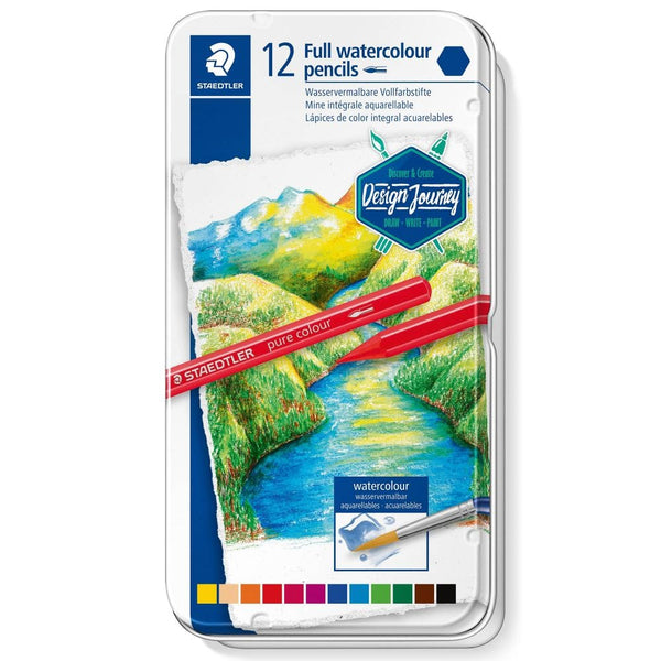 Staedtler Full watercolour pencil pure colour 1/12