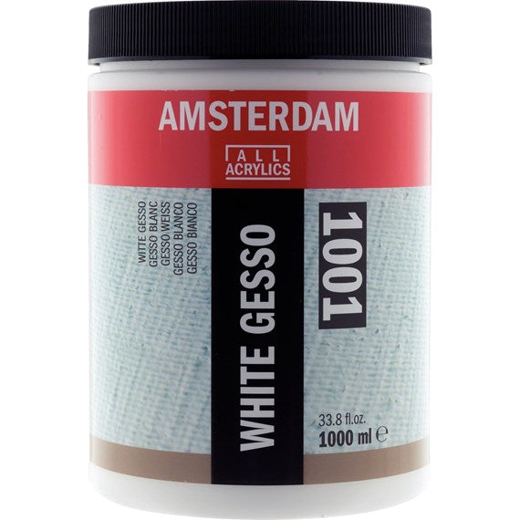 Amsterdam White Gesso Jar 1000 ml