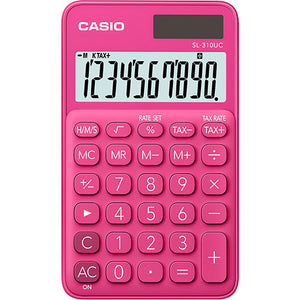 Casio calculator SL-310UC-RD