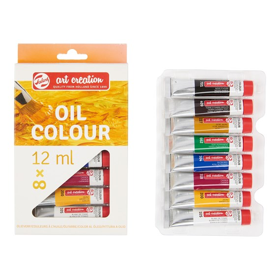 Art Creation Oil Colour Set 8x12ml 9020108M