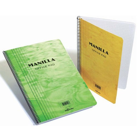 Lecolor Manilla Notebook A5 - Squared #