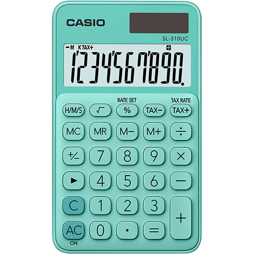 Casio calculator SL-310UC-GN