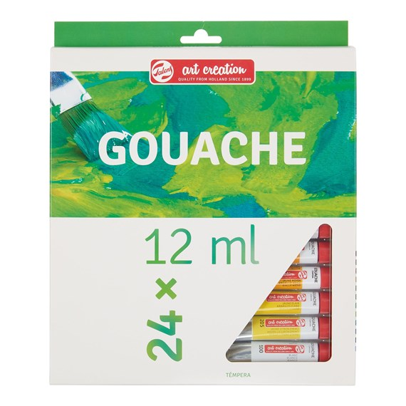 Art Creation Gouache Set 24x12ml 9021624M