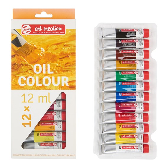 Art Creation Oil Colour Set 12x12ml 9020112M