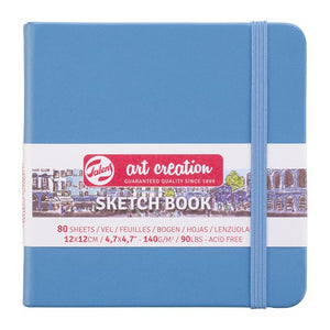 Art Creation Sketchbook Lake Blue 12x12