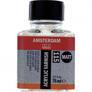 Amsterdam Acrylic Varnish Matt Bottle 75 ml 115