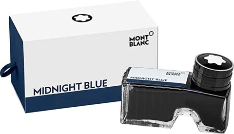 Montblanc Ink Bottle, Midnight Blue 109204