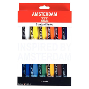 Amsterdam Acrylics 12x20ml Set 17820412
