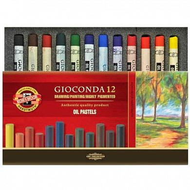 Koh-i-noor Gioconda Oil Pastel Set 8352 12