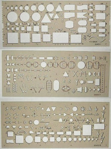 Koh-i-noor Set of Templates Electro 0.5m