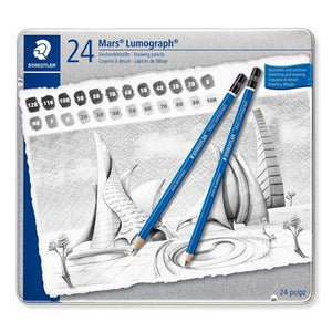 Staedtler Drawing Pencil Set 100 G24